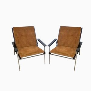 Dutch Easy Chairs by Rob Parry for Gelderland, 1960s, Set of 2