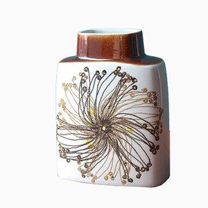 Vintage BACA Fayence Vase von Ellen Malmer für Royal Copenhagen