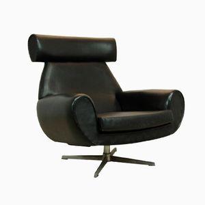 Mid-Century Danish Leather Armchair, 1960s