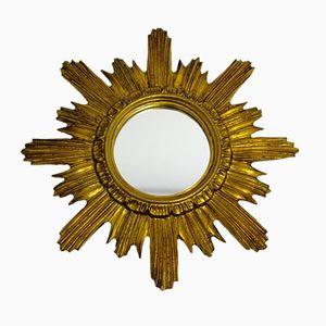 Gilded Italian Sunburst Mirror