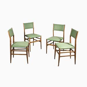 Leggera Esszimmerstühle von Gio Ponti für Cassina, 1955, 4er Set