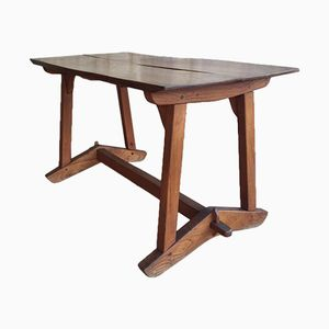 English Industrial Elm Table