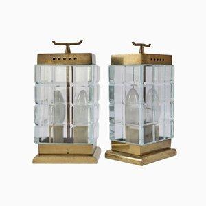Italienische Tischlampen von Pietro Chiesa für Fontana Arte, 1930er, 2er Set