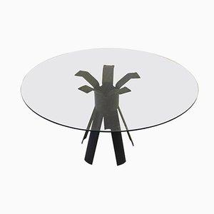 Italian Longobardo Dining Room Table by Angelo Mangiarotti, 1970s