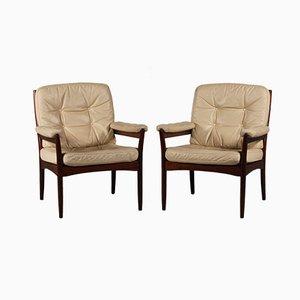 Lounge Chairs by Gôte Möbler Nassjô, Set of 2