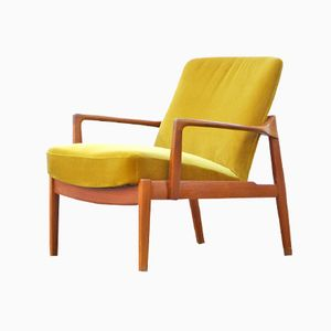 FD125 Teak Easy Chair by Tove & Edvard Kindt-Larsen for France & Daverkosen