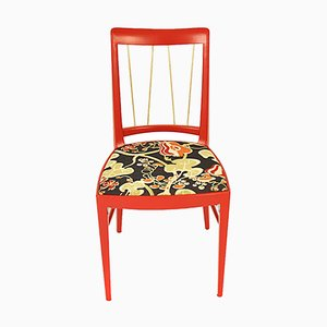 Red Dining Chair by Oswald Haerdtl for Thonet, 1953