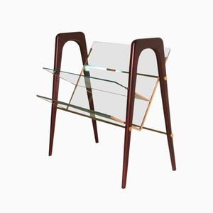 Italian Magazine Rack by Cesare Lacca for Cassina, 1950s