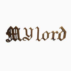 Set de Lettres My Lord Gothique
