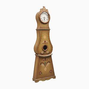 Antique Hand-Painted Floral Mora Clock