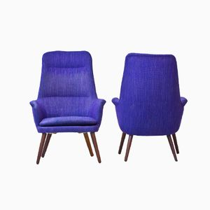 Easy Chairs by Larsson & Nilsson, 1950s, Set of 2