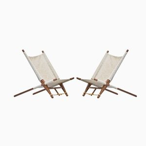 Easy Chairs by Ole Gjerløv Knudsen for Trip Trap, 1960s, Set of 2