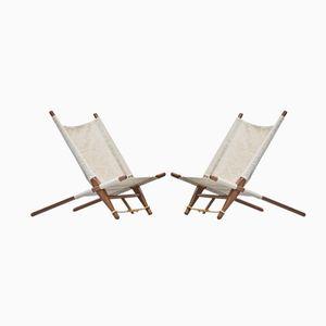 Lounge Stühle von Ole Gjerløv Knudsen, 2er Set