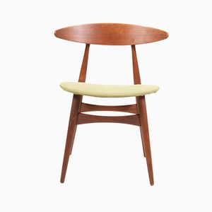 CH-33 Teak Side Chair by Hans J. Wegner for Carl Hansen & Søn