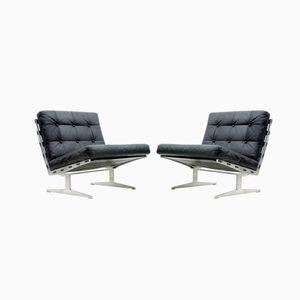 Lounge Chairs by Paul Leidersdorff, 1965, Set of 2