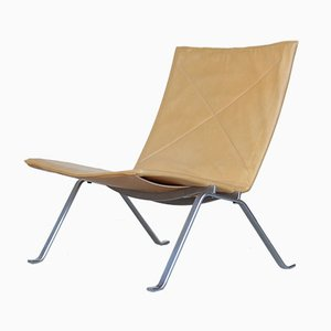 Mid-Century Danish PK22 Lounge Chair by Poul Kjaerholm for E. Kold Christensen