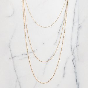 Three Chain Necklace by Kira Lillie