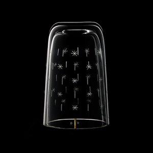 Alphabet Water & Wine Glasses (Pair D) by Formafantasma