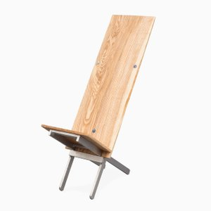 Emerald Ash Slotted Chair by Chen Chen & Kai Williams