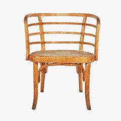Buchenholz Armlehnstuhl von Josef Frank für Thonet, 1930er