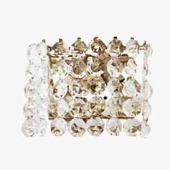 Vintage Austrian Crystal Sconce from Bakalowits, 1960s