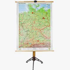 Appoggio per cartine geografriche