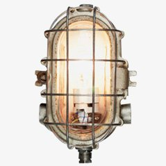 Eared Turtle - Industrial Wall Lamp