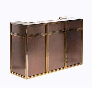 Copper and Brass Modular Bar by Maison Jansen, 1970s