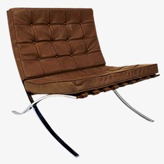Barcelona Easy Chair by Ludwig Mies van der Rohe, 1930s