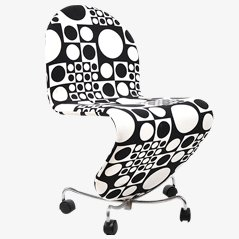 1-2-3 System Office Chair by Verner Panton, 1970s