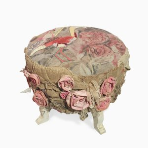 La Vie en Rose Footstool by Bokja