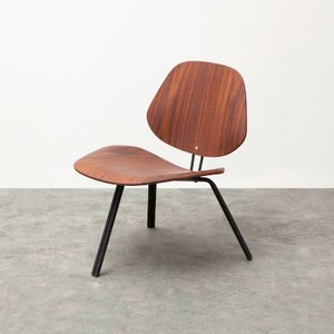 P31 Chair - Rosewood Low by Osvaldo Borsani