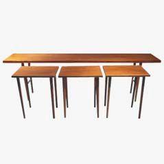 Nesting Tables by Kurt Östervig for Jason, 1956