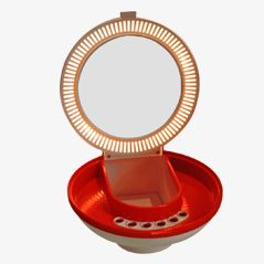 Space Age Vanity Mirror from Flair, 1970s