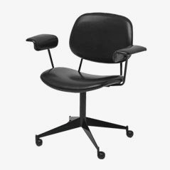 Chaise de Bureau Pivotante par BBPR pour Olivetti