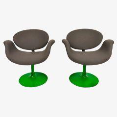 Tulip Stühle von Pierre Paulin für Artifort, 2er Set
