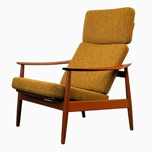 FD 164 Lounge Stuhl von Arne Vodder für Cado, 1960er