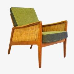 FD151 Armlehnstuhl von Peter Hvidt & Orla Mølgaard für France & Daverkosen, 1956