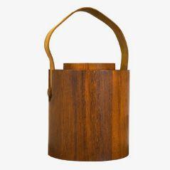 Teak Ice Bucket by Jens Harald Quistgaard for Nissen, 1960s