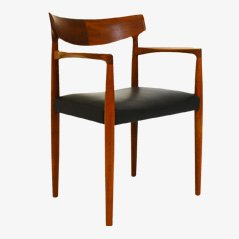 Mid Century Office Chair by Knud Færch for Slagelse Møbelværk, 1960s