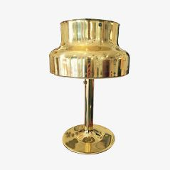 Solid Brass Table Lamp by Anders Pehrson for Atelje Lyktan - Åhus, 1960s