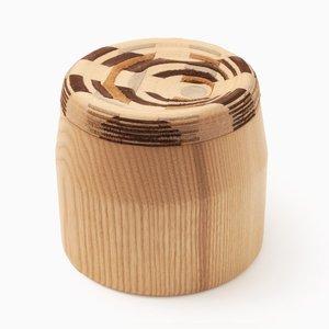 CAD Weaving Jar #1 en Frêne par Dafi Reis Doron