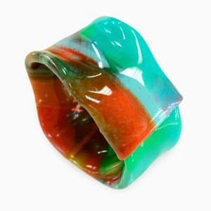Polychrome Resin Bracelet 703 by Andrea Dasha Reich