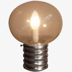 Lampada da tavolo a forma di lampadina, anni '70