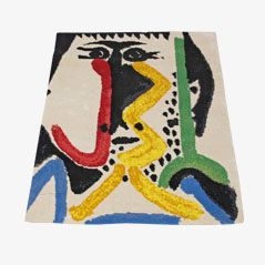 Abstract Rug by Pablo Picasso for Desso, 1960s