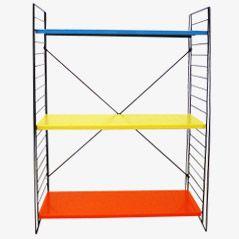 Freestanding Shelves by D. Dekker for Tomado, 1950s