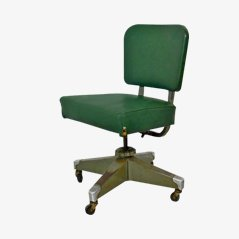Vintage Swivel Easy Chair from Remington Rand