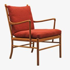 PJ 149 Lounge Chair by Ole Wanscher for P. Jeppesen, 1960s