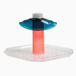 Stellar Orange & Blue Table Lamp by Iain Howlett & Marina Dragomirova