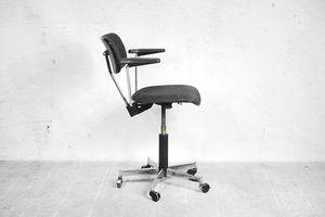 Swivel Office Desk Swiss Chair by Stoll Giroflex, 1970s